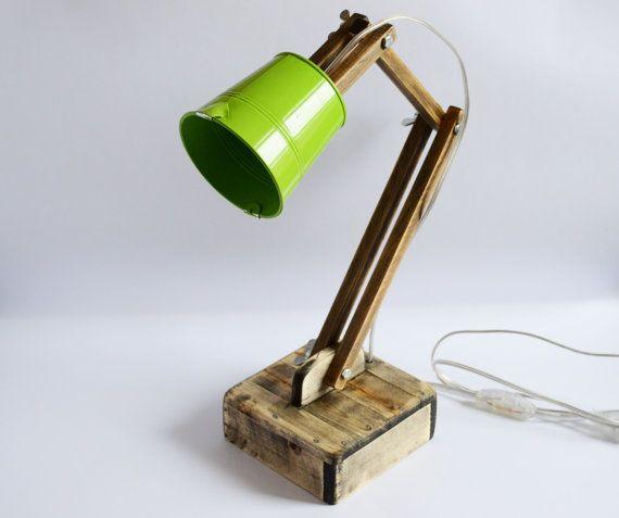 Lampe de lecture de lampe en bois réglable lampe par WoodRestart