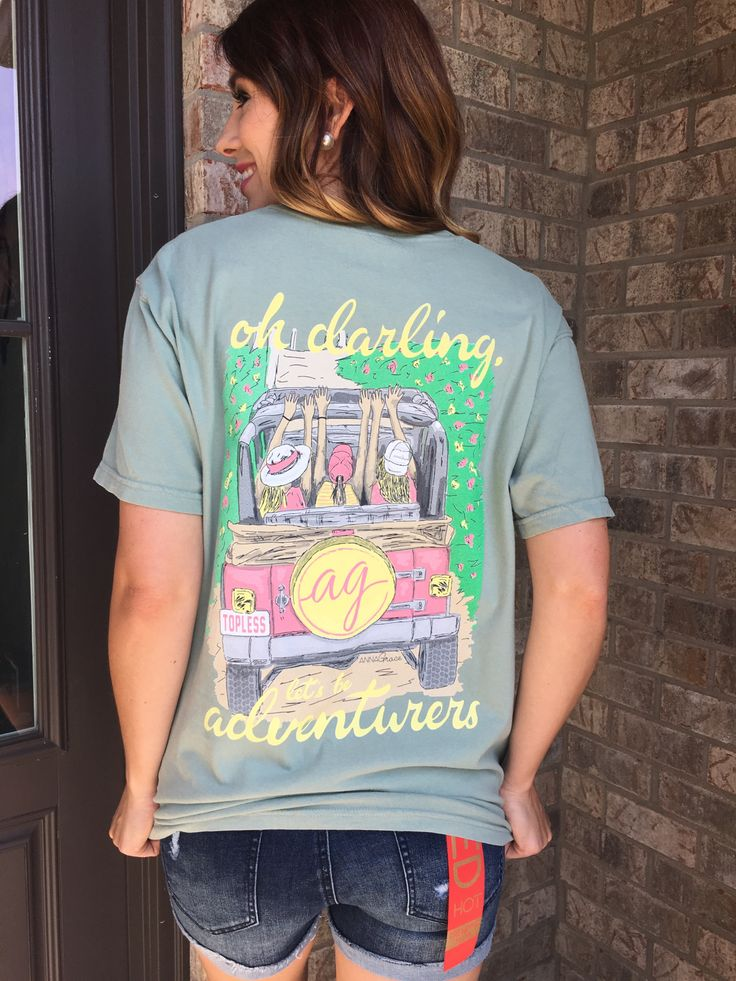 Shop Southern Boutique — Jeep Tee, Comfort Colors