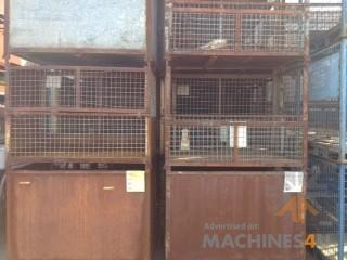 Cde USED LARGE DROP SIDE STILLAGES - http://www.machines4u.com.au/browse/Material-Handling/Bins-Containers-300/Metal-Bins-1399/