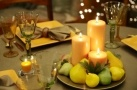 Italian Dinner Party: Tablescape