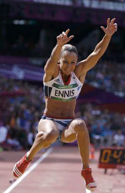 Jessica Ennis Long Jump