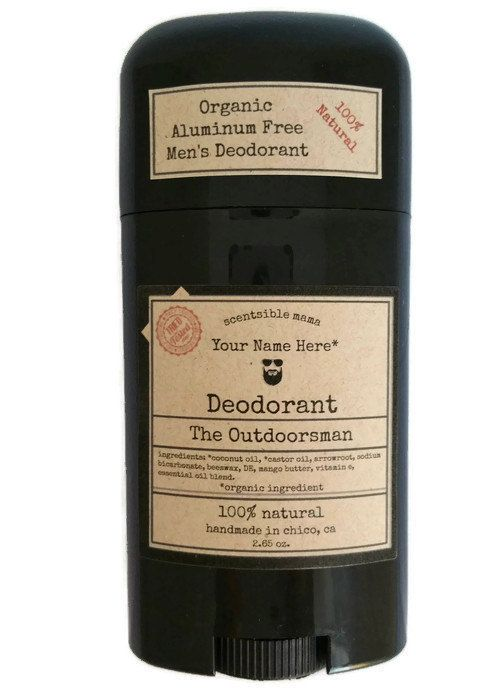 Men's Deodorant (organic) 100% Natural And It Really Works!