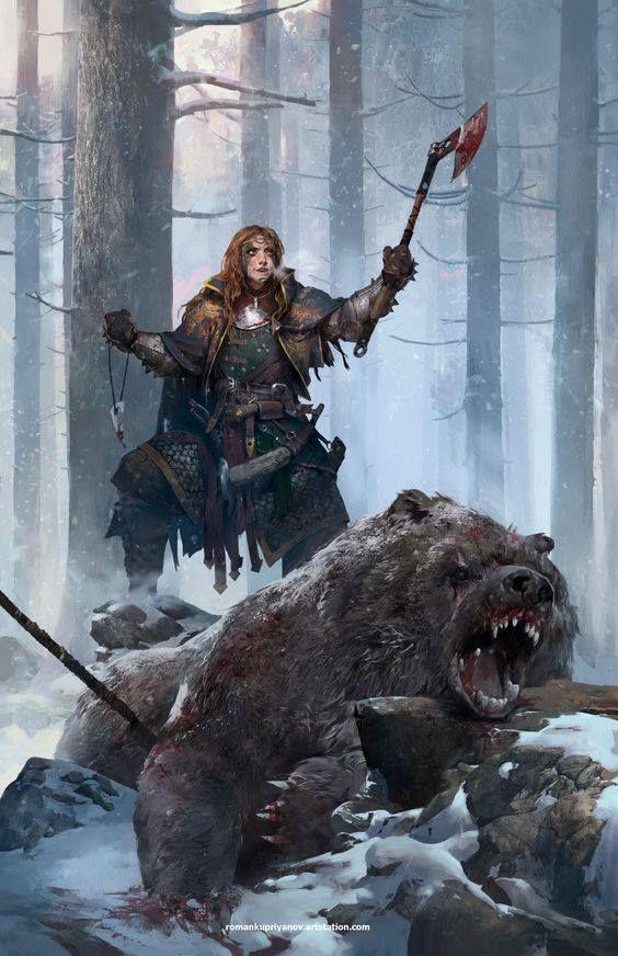 Dwarven Huntress