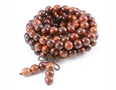 Natural Rosewood Beads Buddha Prayer Bracelet