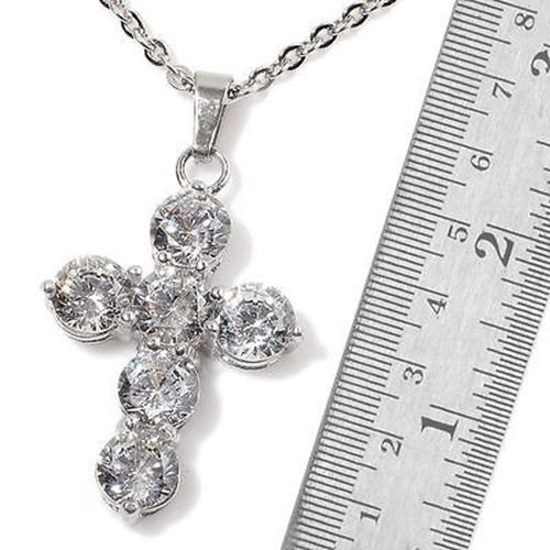 Diamond Cross Earrings & Pendant Religious  #PendantEarrings