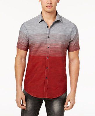 fd437127c0 Shop I.N.C. Men s Ombré Shirt