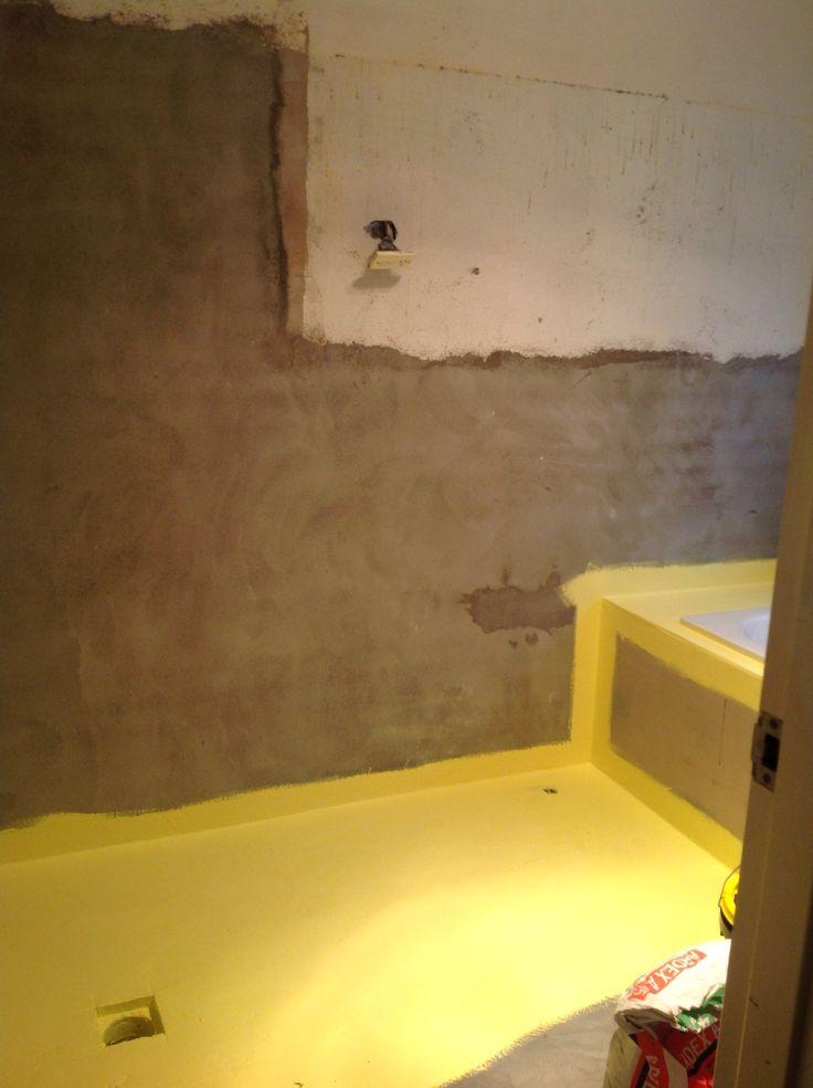 Waterproofed floor