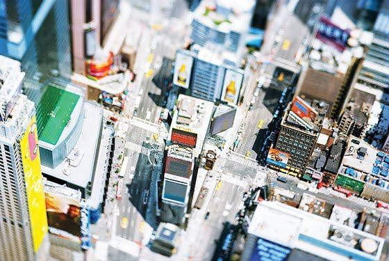 Times Square by Olivo Barbieri