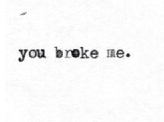 Heart Broken  Sad breakup quotes found on Instagram