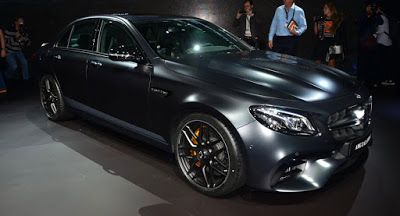 Neue Mercedes-AMG E63 S Edition 1 hat ein Sinister Looking gefarbung AMG LA Auto Show Mercedes AMG Mercedes E-Class Mercedes E63 AMG