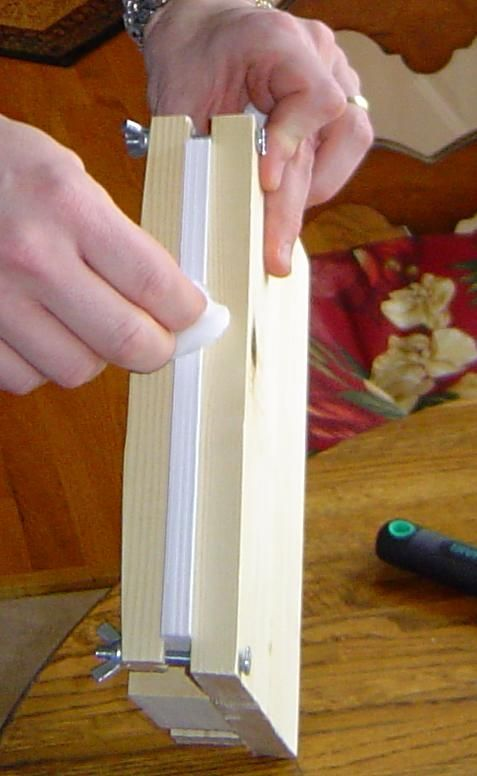 How to make a paperback book.  This one discusses using gorilla glue to hold the pages together
