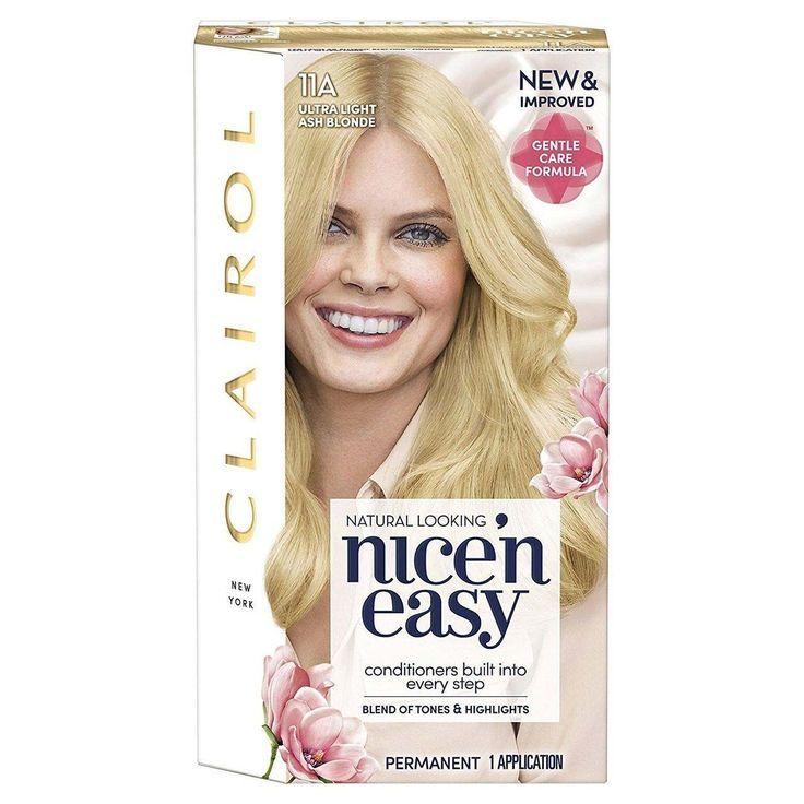 Clairol Nice N Easy Ultra Light Blonde Permanent Hair Colour 11a