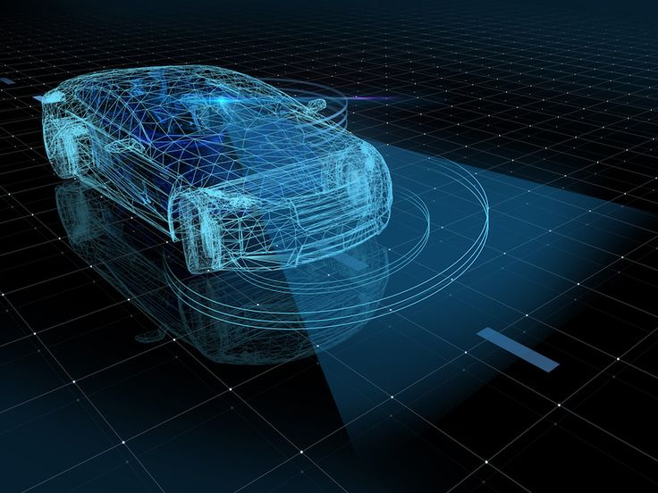 What latest technology updates are supporting self-driving cars?