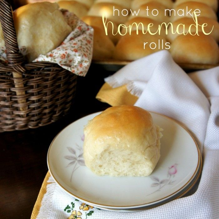 Step by step on How To make Homemade Rolls