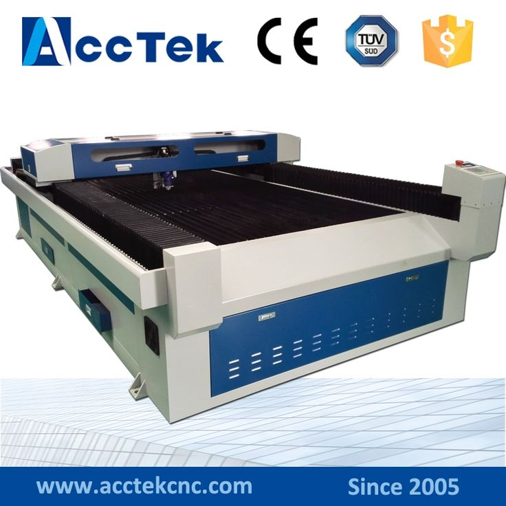 Acctek co2 laser cutting plotter/rubber co2 laser engraving machine 1325/1390/1610/6090