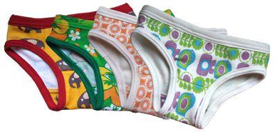Free pattern and tutorial kids underwear (size 2T - 6Y)