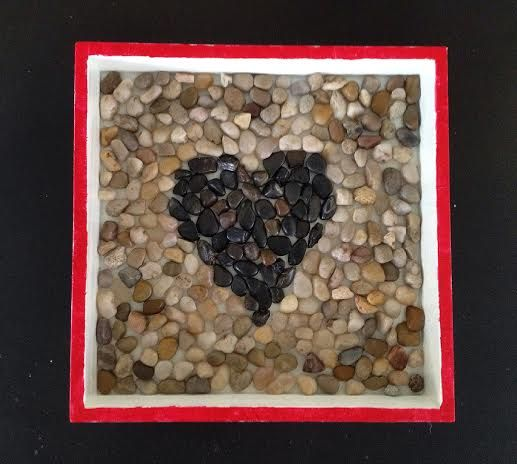 River Rock Art -