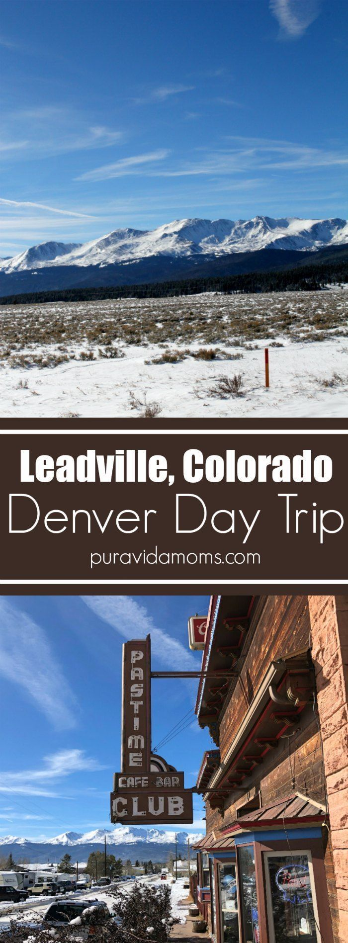 Leadville, Colorado is a great day trip from Denver- perfect for families! The scenic drive is full of stunning mountain views.