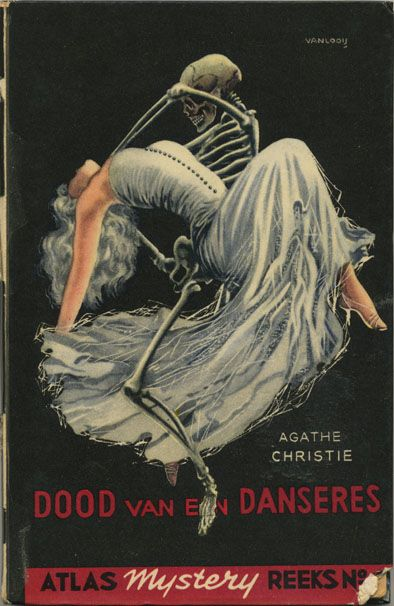 Agathe Christie - Dood van de danseres - Death of the dancer (original title The body in the library - vintage paperback cover