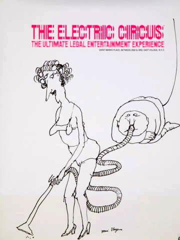 tomi ungerer art   Tomi Ungerer Electric Circus Vacuum