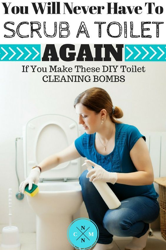 YOU WILL NEVER HAVE TO SCRUB A TOILET AGAIN IF YOU MAKE THESE DIY TOILET CLEANING BOMBS?><87410