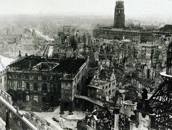 was the bombing of dresden justified In february 1945, british and american bombers firebombed the city of dresden, germany the city was filled with refugees at the time and had virtually no air defence.