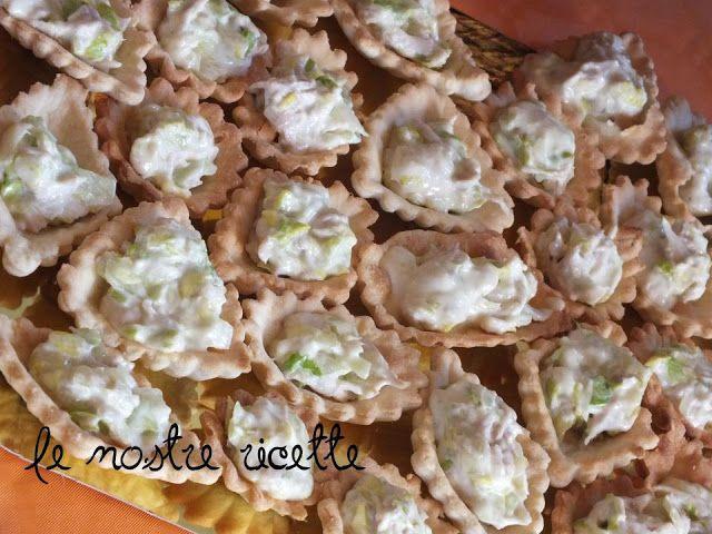 Le nostre Ricette: Insalata di pollo in barchette di pasta brisè