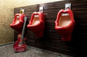 Jagger Urinals...oh my.Lemonade Mouth, Design Boards, Frankfurt Germany, Lips, Toilets, Rolling Stones, 25Hours Hotels, The Rolls Stones, Mick Jagger