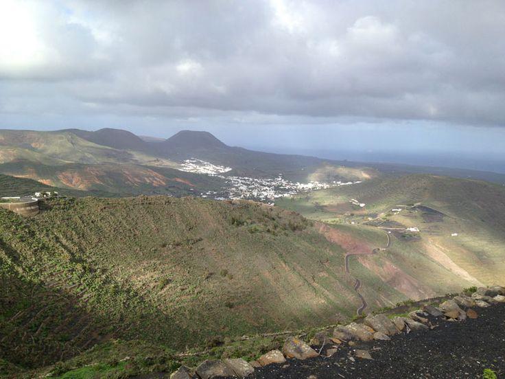 Tabeyesco - 10km climb midway through the bike - Ironman 70.3 Lanzarote