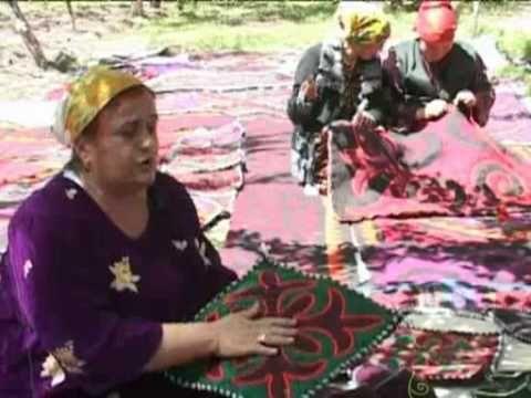Шерстяные ковры Думбрачи  Таджикистан