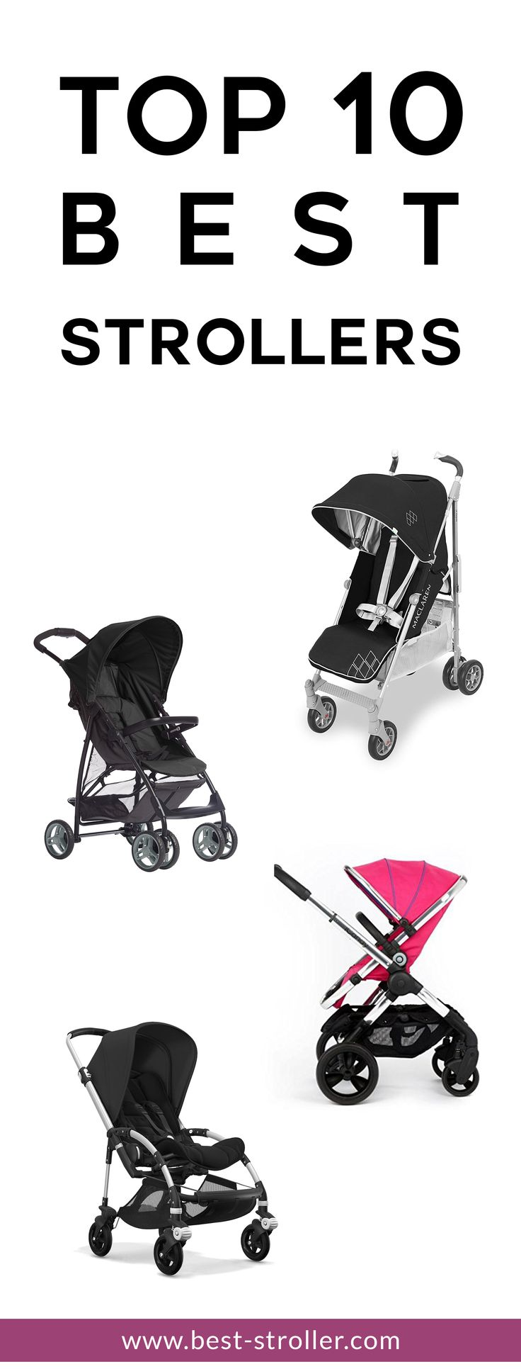 Find out which is the best stroller for your baby
