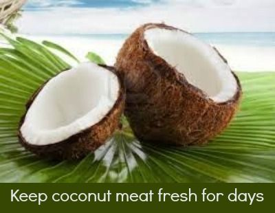 how to open a coconut easy