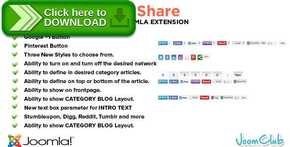 [ThemeForest]Free nulled download All in One Social Share Joomla Plugin from http://zippyfile.download/f.php?id=38049 Tags: ecommerce, Joomla Social Module, Joomla Social Plugin, joomla social share, Pinterest Joomla, Pinterest Joomla Module, Pinterest Joomla Plugin, Social Bookmarking Joomla, Social Joomla Plugin, Social Sharing Joomla