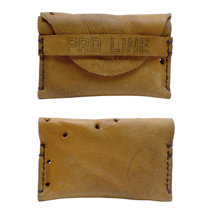 Awesome wallets made out of recycled baseball gloves.