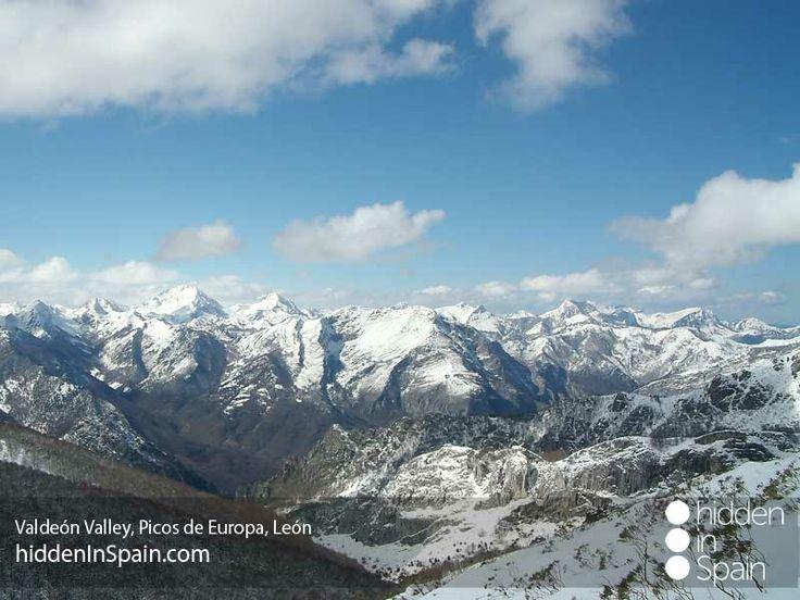 Valdeón Valley, Picos de Europa on winter