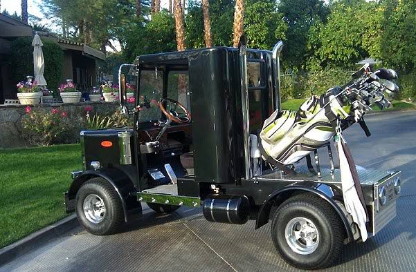 Cool Semi Trucks Coolest Golf Cart You 39 Ll See In Months