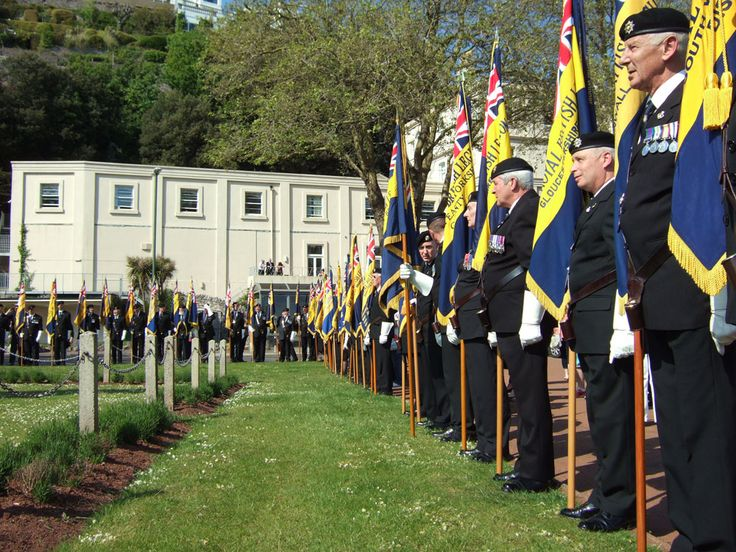 Standards on Display for the Royal British Legion Annual Conference