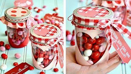 MuyVariado.com: Frasco Romantico para San Valentin, Manualidades P...
