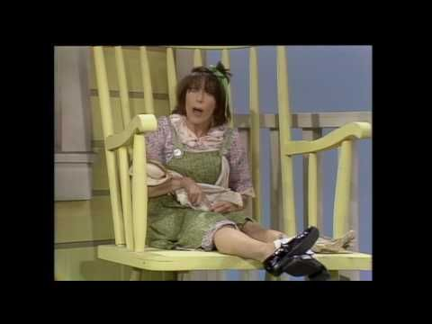 OMG this was my favorite skit for some crazy reason I do not now know!! -- Edith Ann Running Around Naked   Rowan & Martin's Laugh-In   George Schl...