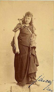 Jászai Mari mint Médea (1887)