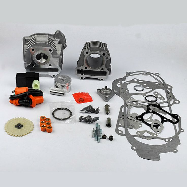 New 100cc Cylinder Piston Gasket Set For 139QMB & 1P39QMB /GY6 50cc 100cc 4 Stroke Chinese Scooters