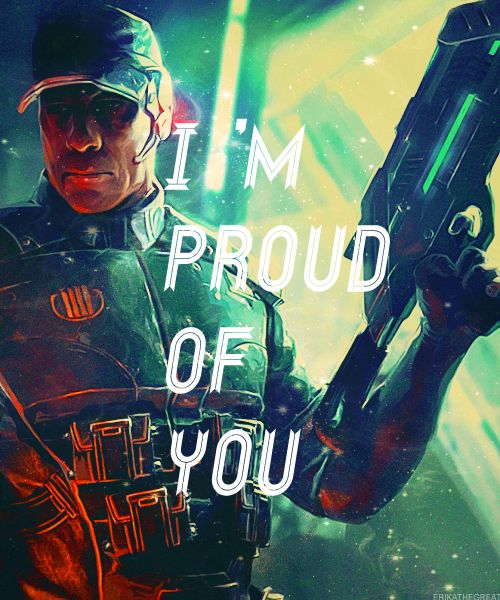 mass effect david anderson I cried when he says this on the Citedal, Mass Effect 3