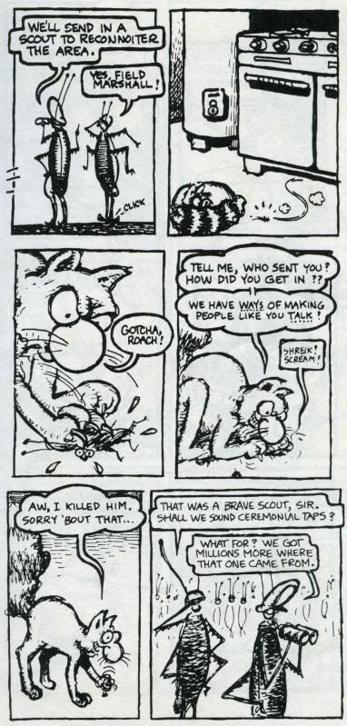 Fat Freddy's Cat  ROACHES page 1