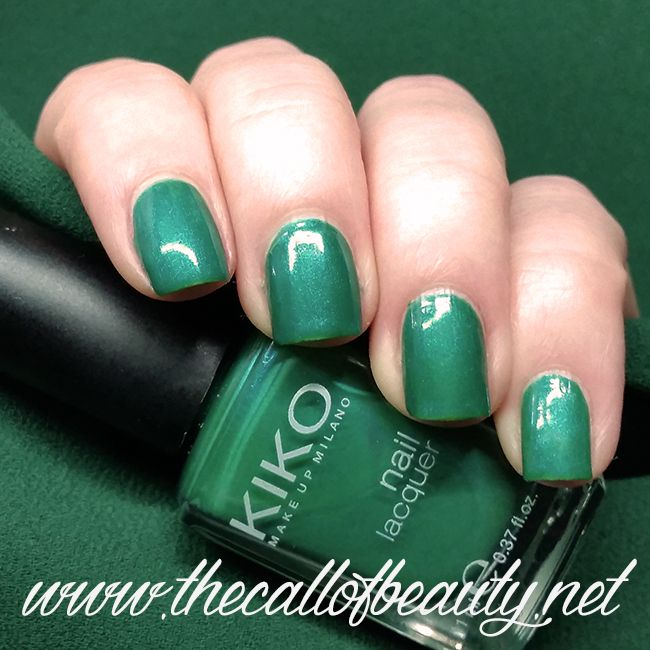 The Call of Beauty: ABC Challenge: #388 Verde Caraibi Kiko