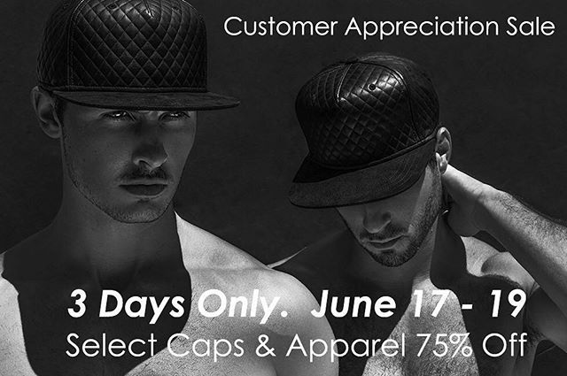 1 Day Left for  #Gents Customer Appreciation Sale. Receive 75% Off Select Caps & Apparel. (Link in bio). #GentsCo #accessories #ballcap #baseballcap #baseballhat #fashion #hat #hats #luxury #LuxuryBrand #MensCap #MensLine #menstyle #menswear #mensstyle #mensfashion #menwithstyle #style #FathersDay #Gents #summerstyle #sale #CustomerAppreciation