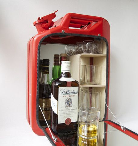 11 best Jerry can images on Pinterest   Mini bars, Bar cabinets ...