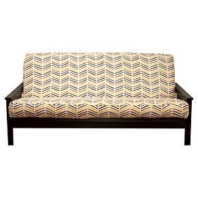 Give a room an instant makeover with the SIScovers Futon Cover. This tailored futon cover is available in a wide variety of colors and prints. It's a quick and easy way to create a powerful style statement while protecting the futon mattress. Plus, this is a fully machine-washable futon cover.