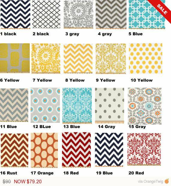 WHITE SALE Curtain 32 color choices, kitchen curtains, Nursery Decor, Bedroom Curtains, Window Treatment, Curtains, Window Treatments