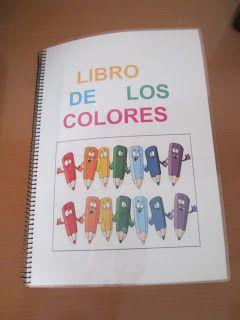 Os enseño este libro que les he realizado a mis peques para reforzar el tema de los colores, ya que dicho juego consiste en colocar cada dib...