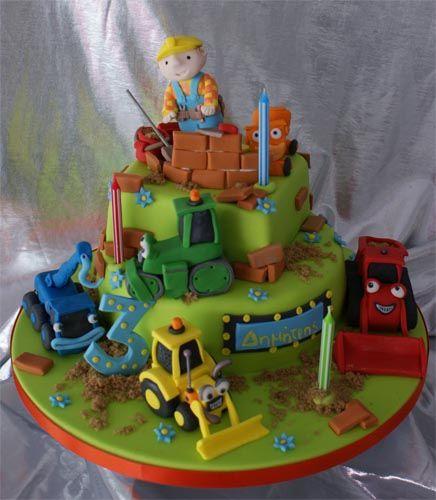 Bob The Builder Cakes